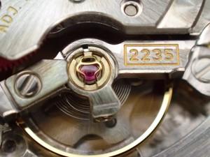 Cal.2235のレディースモデルです