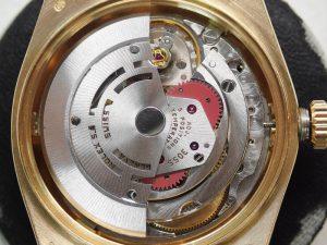 30年以上前の時計とは思えないほど、コンディションの良いデイデイトです