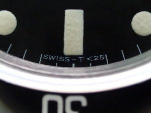 トリチウムの使用を意味する、T<25の表記です