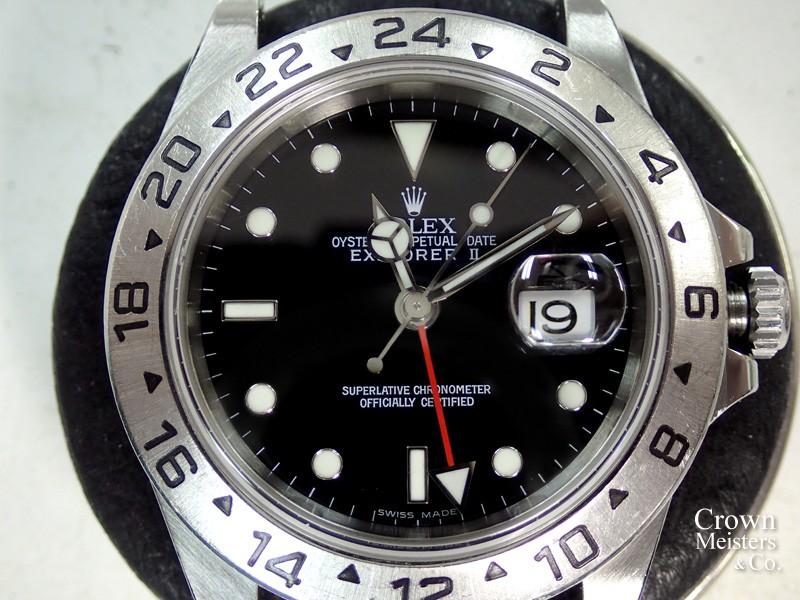 premium selection d691f 16375 ロレックス エクスプローラーII Ref.16570 オーバーホール その1 ...