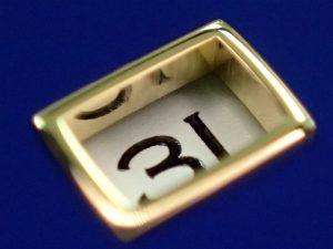 このRef.116613GLBは、とてもダイヤルが厚くできています。