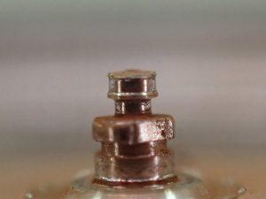 オイル切れによって、摩耗したローター真です。交換が必要です。