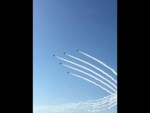 毎年文化の日に行われている、埼玉県の航空自衛隊入間基地の航空祭です