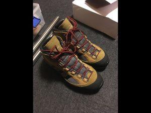 年始に購入した登山靴が未だに使用できずにいます…。
