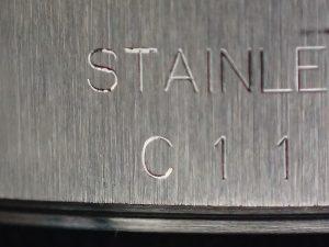 C番は1992年頃の製造と思われます。あまり見ることがないシリアルです。
